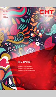 Bezema Colour Solutions. Dyestuff Range - náhled