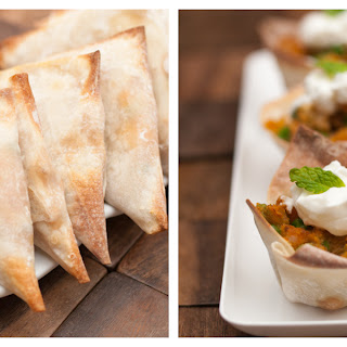 Easy Baked Chicken Samosas and Samosa Cups