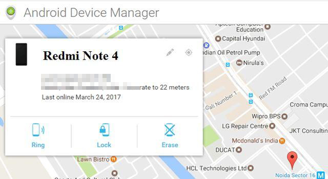 unlock mi phone pattern lock via android device manager