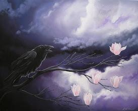 Photo: Storm Raven - 30x24 Acrylic on Canvas