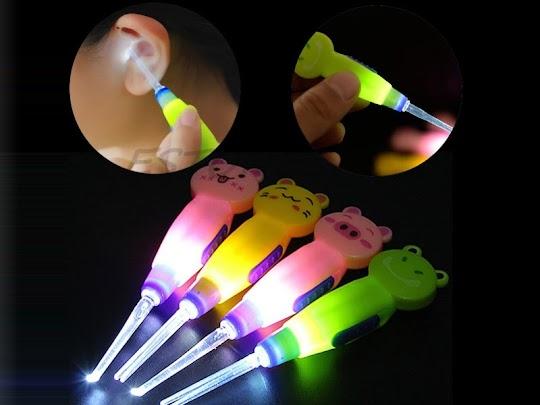 alat pembersih telinga senter pembersih telinga higienis aman digunakan berkualitas ear pick earpick