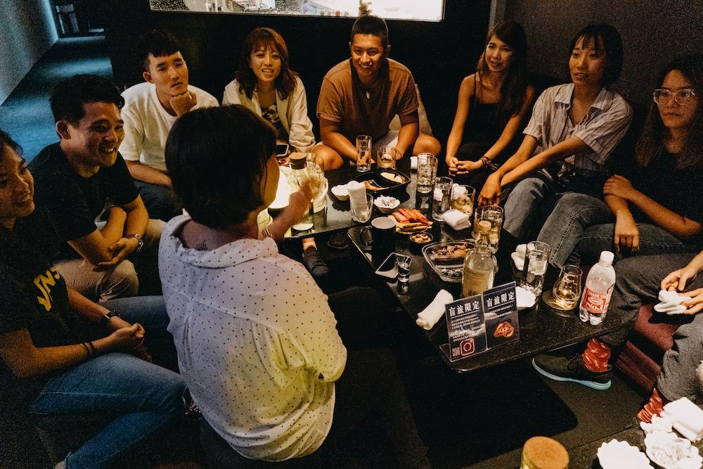 質感體驗 pinkoi_experience 台北景點 林森北路 條通 媽媽桑 盲旅 日式酒店
