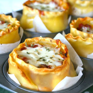 Lasagna Cups.