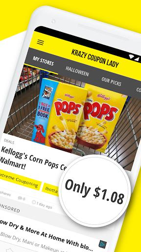 Krazy Coupon Lady: Store Deals & Coupon Finder screenshot