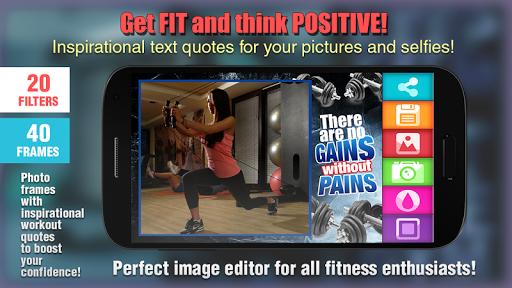 Fitness Motivation Pic Frames