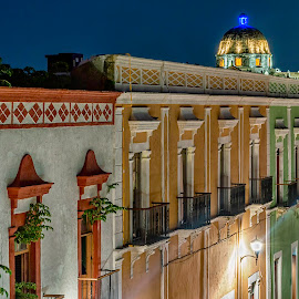 Colorful Symmetry  by Andrius La Rotta Esquivel - Buildings & Architecture Homes ( mexico, architectural detail, buildings, artistic, photography, architecture, home )