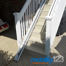 Photo: Outdoor Acorn Stairlift
