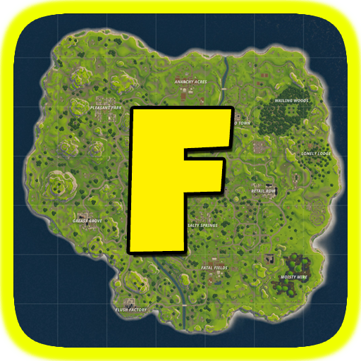 Fortnite Map & Chest locations : Battle Royale
