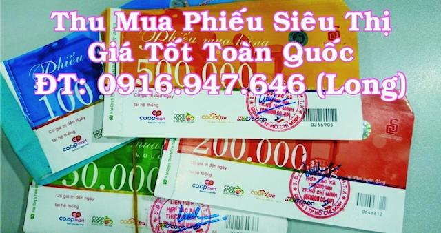 Thumuaphieusieuthi.com cung cấp dịch vụ thu phiếu Coopmart nhanh chóng và giá tốt
