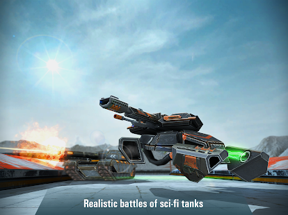 Iron Tanks: Free Multiplayer Tank Shooting Games- screenshot thumbnail
