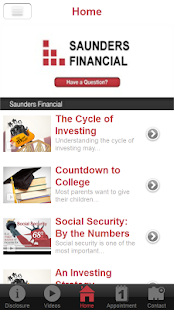Saunders Financial- screenshot thumbnail
