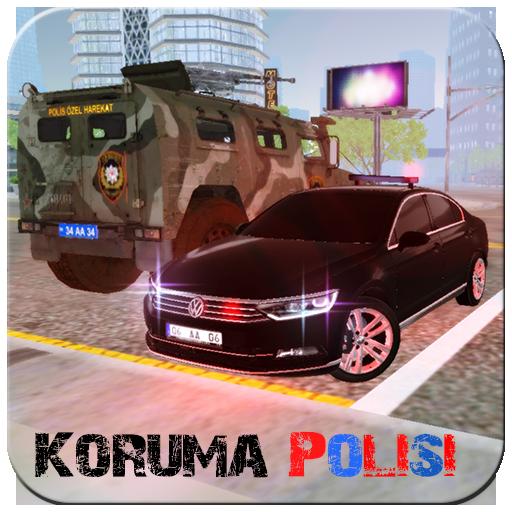 Polis Koruma Arabası Passat Oyunu