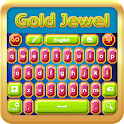 Gold Jewel Keyboard icon