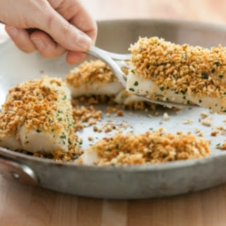 Baked Cod Fish With Bread Crumbs Recipes.