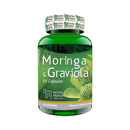 moringa graviola 60capsulas natural premium