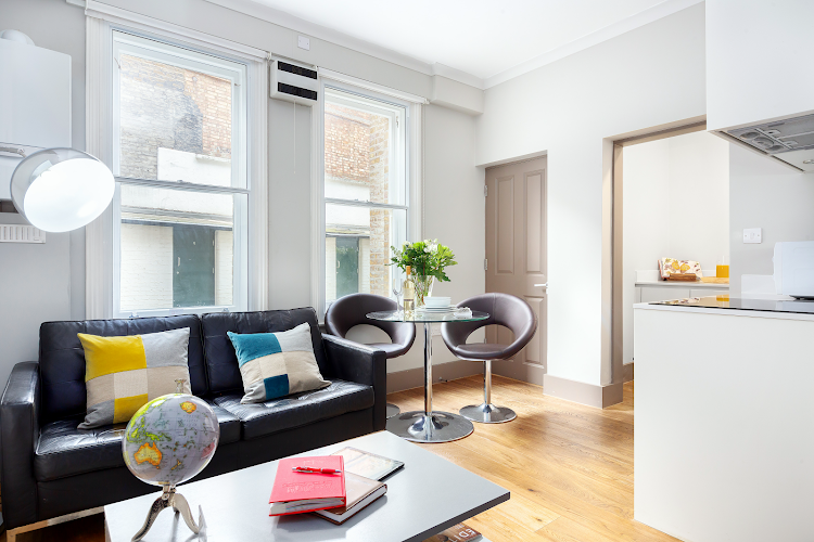 Cleveland Residences Fitzrovia Serviced Apartments living room