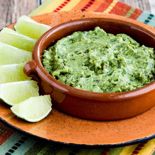 Recipe for Cilantro-Lovers Perfect Guacamole with Red Onion, Lime, and Chiles Recipe