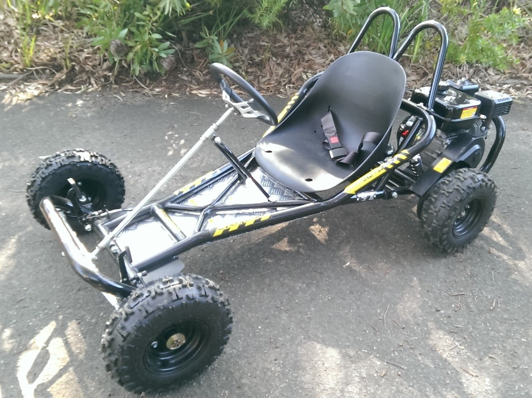 6.5Hp 4 stroke Kids Mini Offroad GoCart Buggy Black