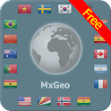 World atlas & world map MxGeo icon
