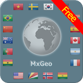 World atlas & world map MxGeo