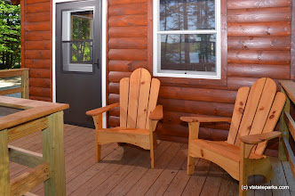 Photo: Porch at Gentian cabin at Woodford State Park