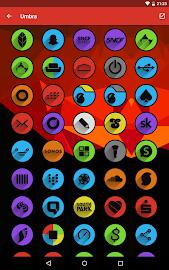 Umbra - Icon Pack Screenshot 16