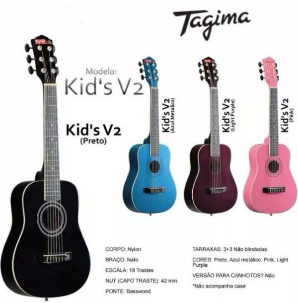 Tagima Kids es una línea de guitarras para niños