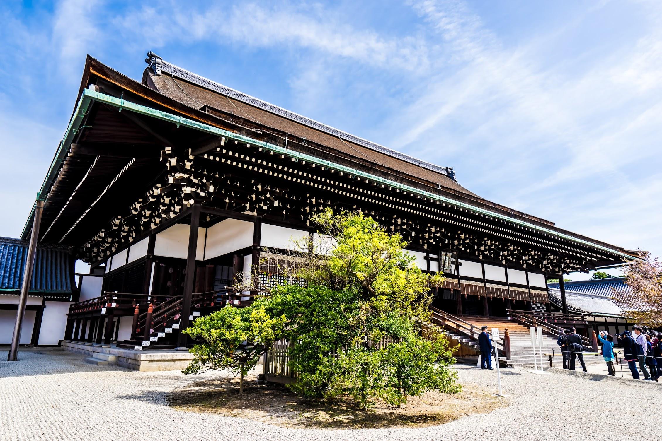 Kyoto Imperial Palace Shishinden3