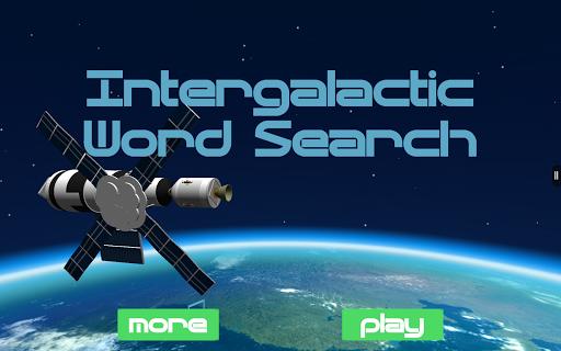 Intergalactic Word Search