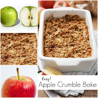 Baked Apples With Crumble Topping Recipes