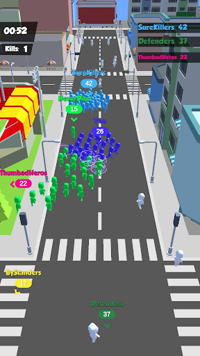 Crowd Race 3D : Biggest in the city! android2mod screenshots 4