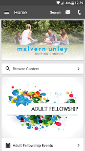 Malvern Uniting- screenshot thumbnail
