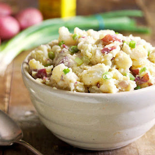 Southern Smashed Potato Salad.