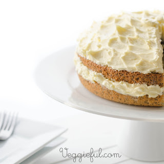 Vegan Orange and Poppy Seed Cake Recipe