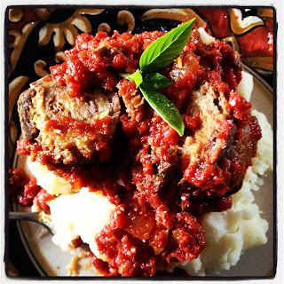 Slow Cooker Braciole.