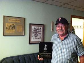 Photo: Dennis Mello, President of Cut-Rite Concrete Cutting Corporation in Pawtucket, RI