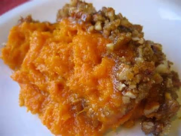 Candied Mashed Sweet Potatoes Recipe