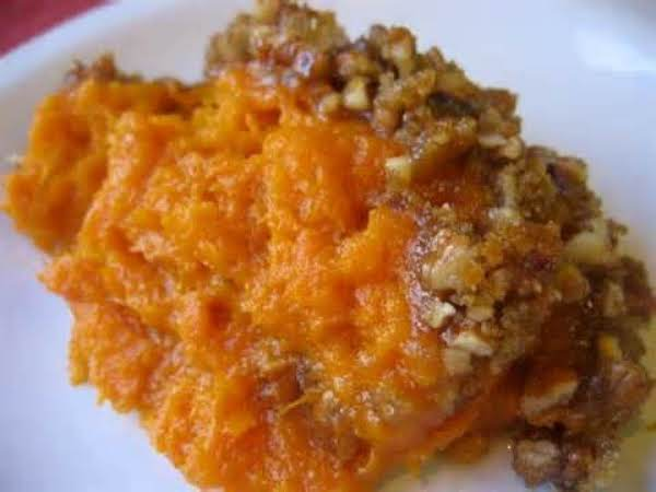 Candied Mashed Sweet Potatoes