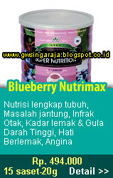 blueberry nutrimax