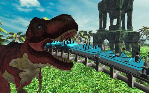 玩模擬App|侏罗纪 丛林 滚筒 杯垫免費|APP試玩