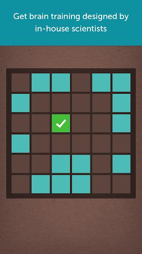 Screenshot 0 for Lumosity's Android app'
