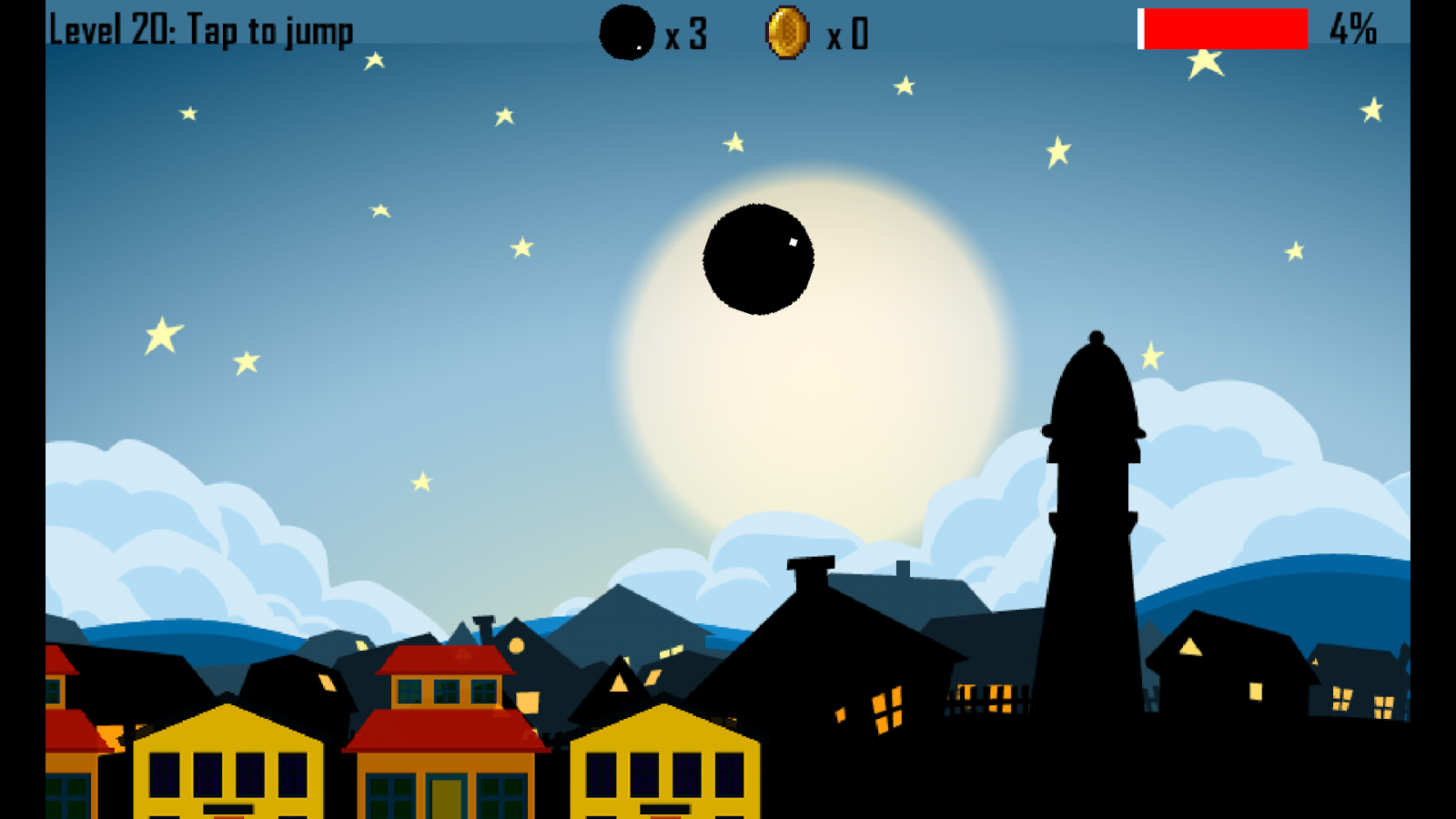 Cannonball Roller 1- screenshot