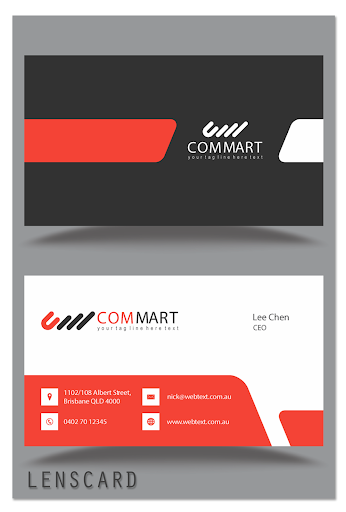 Lenscard -Business Card Maker 2.0.18 screenshots 7