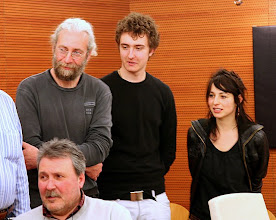 Photo: gli Autori selezionati: Renzo BELLOGI (in basso), Francesco COMELLO, Lorenzo ZOPPOLATO, Francesca CRISTIN
