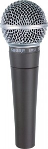Shure SM58 - vocal recording microphone