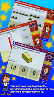 Maths Skill Builders Primary- screenshot thumbnail