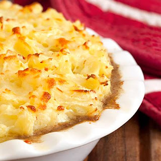 Leftover Turkey Shepherd's Pie With Cheesy Mashed Potatoes (and a Secret Ingredient!).