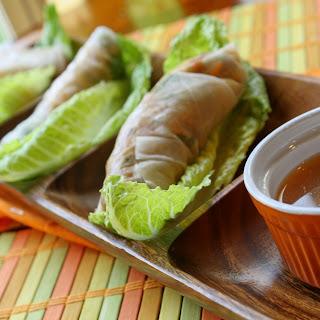 Vietnamese Salad Rolls w/ Dipping Sauce