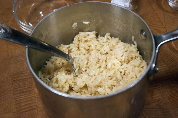Cold Weather Comfort Food: White Rice With A Twist Recipe