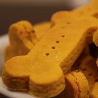 Wheat-Free Pumpkin Dog Biscuit